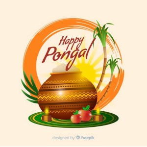 Four Days of Pongal Festival (Makara Sankranti)