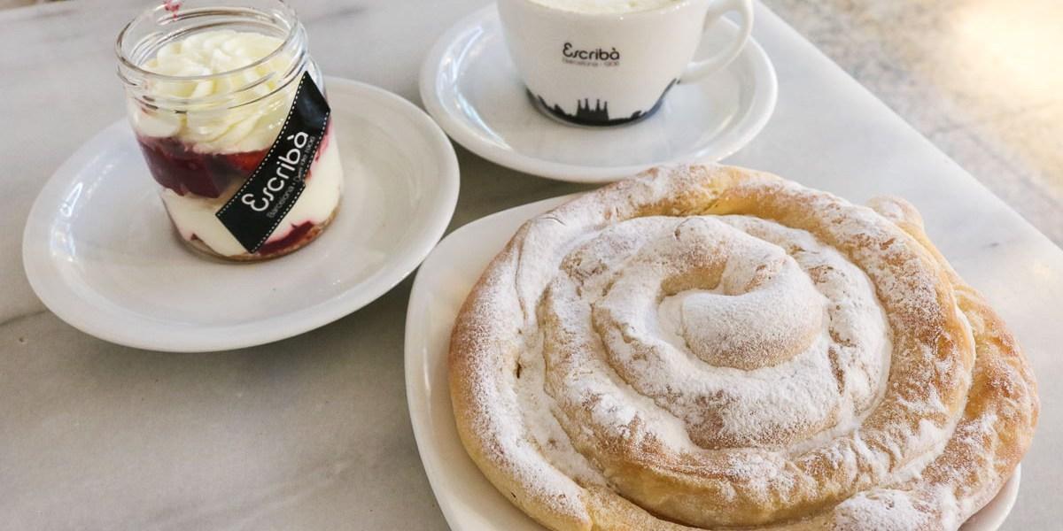 西班牙巴塞隆納甜點Escriba 甜點藝術師百年老店