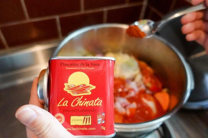 西班牙豆子湯 暖胃好湯簡單零失敗紅椒粉萬歲!對付豆子用壓力鍋省力省火最有效率