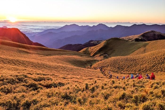 奇萊南華兩天一夜抽籤天池 百岳新手單日狂走30公里的真面目