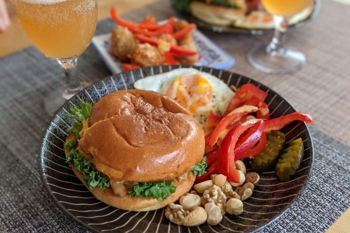 台北中山美食 男人窩美式漢堡不吃牛首選