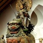 山形県 亀岡文殊 文殊菩薩像
