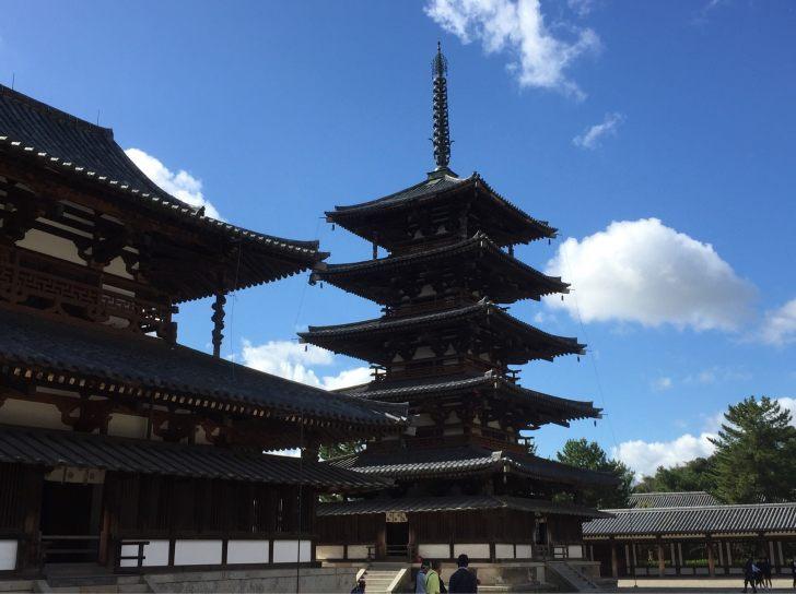 奈良県 法隆寺