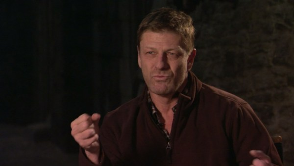 Sean Bean Game of Thrones Behind the Scenes