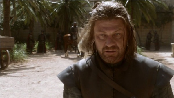 Sean Bean Eddard Stark Game of Thrones angry eyes screengrabs