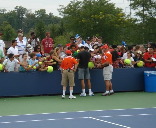 Roger Federer Cincinnati Open practice pics photos