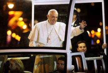 Pope Francis in Philadelphia 2015.