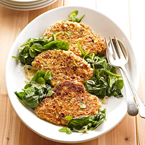 Healthy Almond-crusted Chicken Paillards