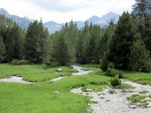 Aigüestortes National Park, trail to Lake Llong