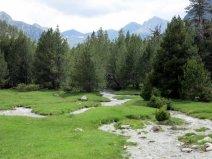 Aigüestortes National Park, trail to Lake Llong