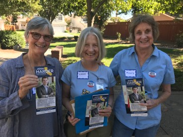 Canvassing in CA-10 last month