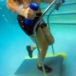 The Aquabilt Pool Treadmill