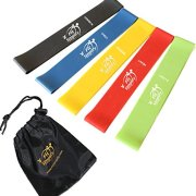 1-Best-Resistance-Bands-5-Loop-Fitness-Bands-Set-Exercise-Resistance-Loop-Bands-Exercise-Bands-For-Legs-And-Arms-Physical-Therapy-Bands-Online-Videos-Free-Ebook-Lifetime-Guarantee-0