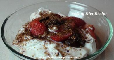 Strawberry Yogurt Flaxseed-17-day Diet Recipe