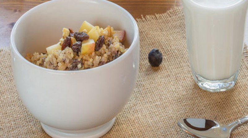 Quinoa Raisin Breakfast