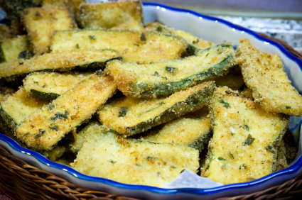 baked zucchini fries low calorie