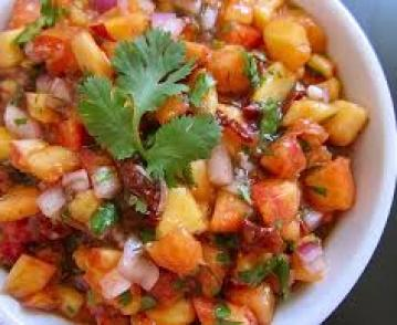 Peach Spicy Slsa Recipe