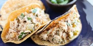 Tuna Tacos With Avocado