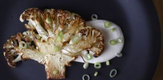 Baked Cauliflower with Yogurt