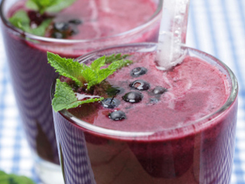 Berry Banana Diet Smoothie