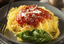 Pegan 365 diet Spaghetti Squash With tomatoes