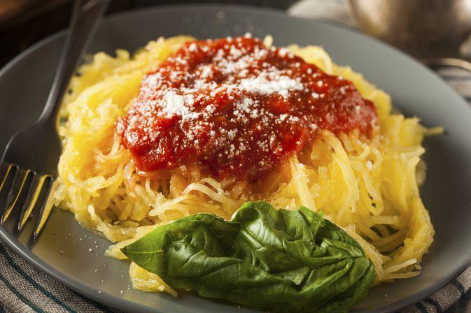 Pegan 365 diet Spaghetti Squash With tomatoes