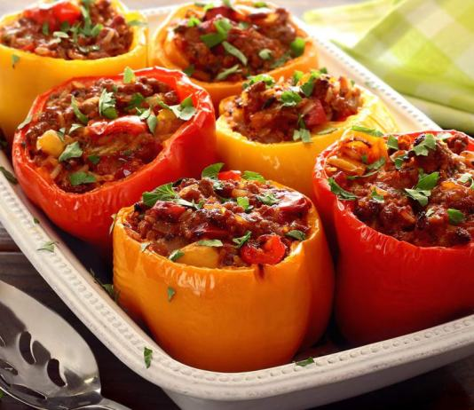 Stuffed Pepper Pegan Diet 365
