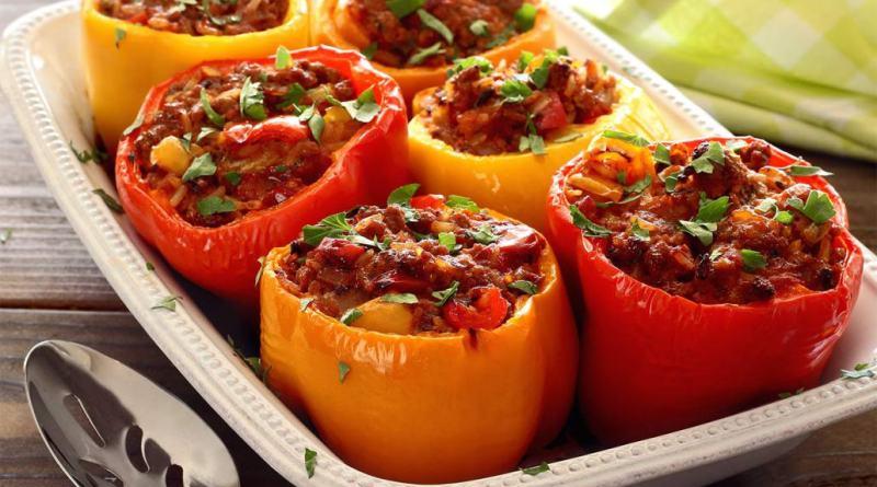 Stuffed Pepper Pegan Diet 365