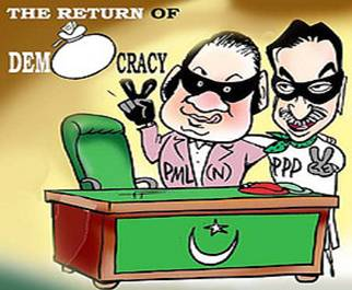 Pakistan's transformation from a Kleptocracy /Plutocracy to a Democracy and the onslaught on the Army!
