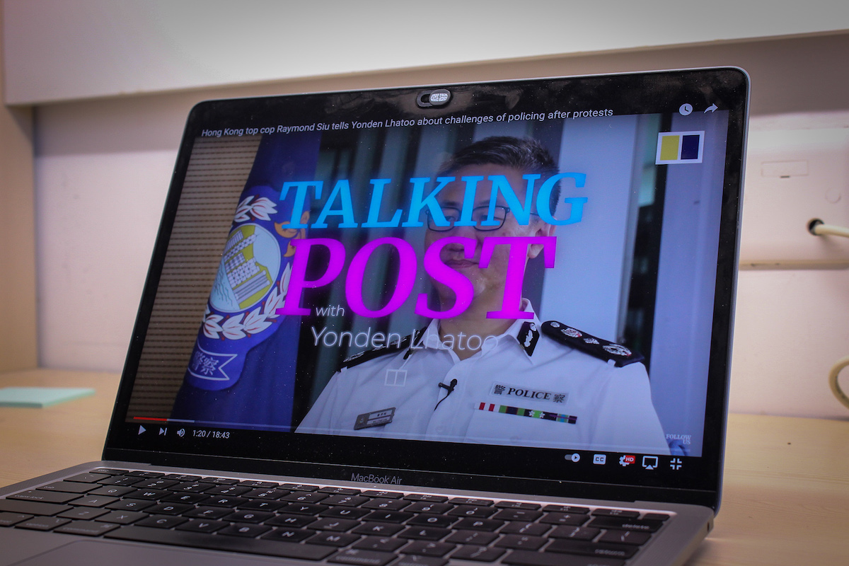 SCMP Talking Post YouTube video