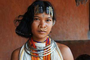 Dongria K Woman