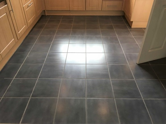 how to clean my kitchen floor grout