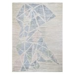 9 X12 Pastel Pure Silk With Textured Wool Hi Low Hand Knotted Oriental Rug