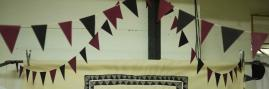 Party time bunting.