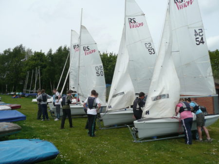 boat hire RS vision members