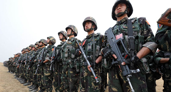 chinese-troops