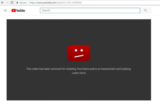 youtubecensorshooting