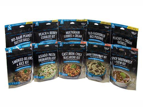 Bannock Mega Sample Pack - Boil in Bag Meals