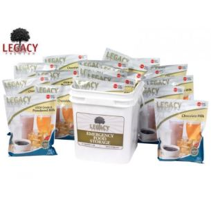 160 Serving Legacy Foods Mixed Milk Bucket