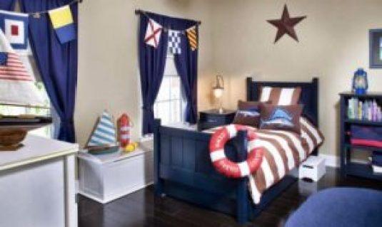 Комната для мальчика морской стиль
