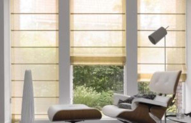 Римские шторы дома