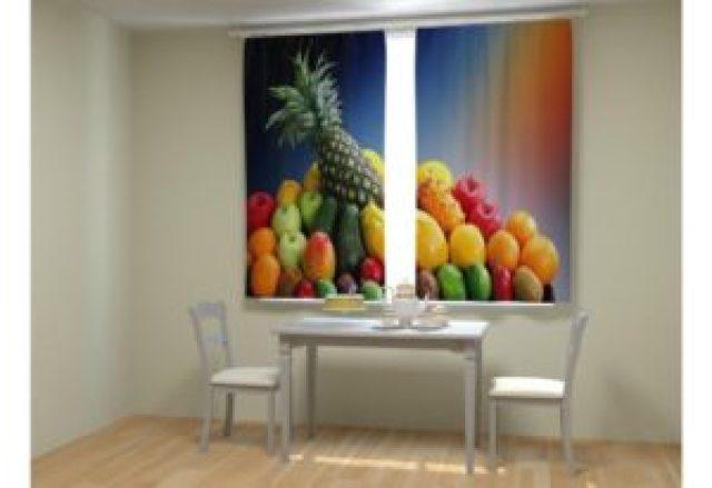 Шторы с фруктами