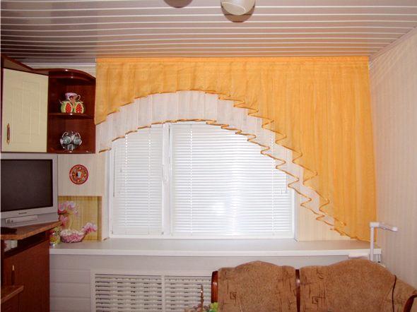 Асимметричные шторы своими руками - мастер класс с фото