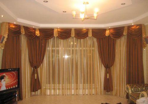 Ламбрекены для штор в спальне выкройки для пошива своими