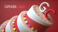 GRABCAD Cake