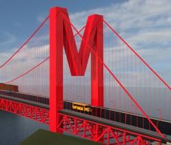 M bridge