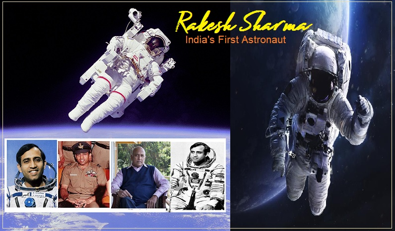 India's first Astronaut Rakesh Sharma created history by going to Space