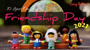 10 Lines on Happy Friendship Day