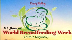 World Breastfeeding Week 2021