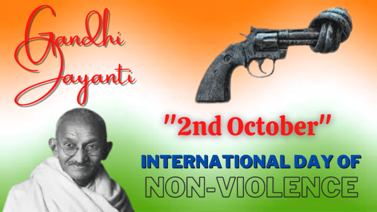 10 Lines on International Non-Violence Day